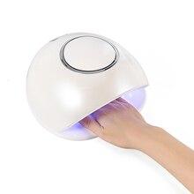 Портативная беспроводная лампа для ногтей с перезаряжаемой батареей, профессиональная Сушилка для ногтей, УФ светодиодная сушилка для гель лака