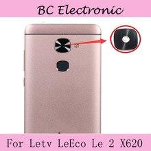 Para Letv Le2 x620 Cámara Trasera Cubierta de Lente de Cristal Del Marco (no Para Pro) Teléfono Celular de reemplazo de Reparación de Piezas De Repuesto