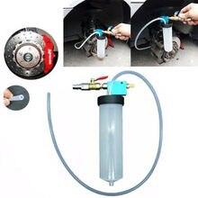 80 см авто Тормозная жидкость Замена инструмент пластик+ металлический насос масло Bleeder пустой обмен оборудование инструмент быстрая замена масла/пустой воздух