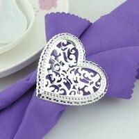 10pcs/lot Free shipping metal pentagram napkin rings, silver napkin holder, napkin buckle hotel wedding table decoration