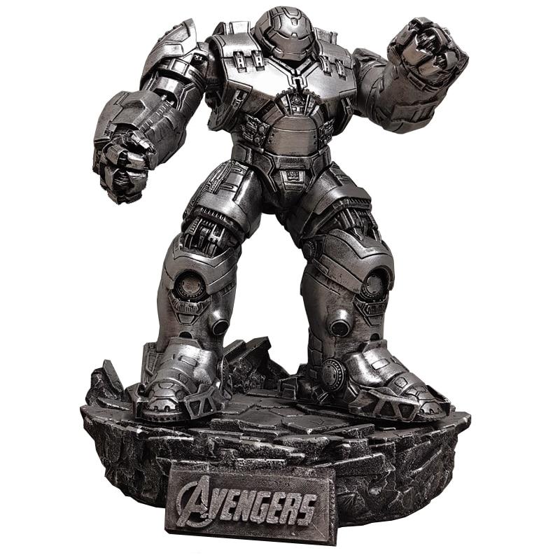 Statue Avengers Superhero Iron Man Tony Stark Bust Hulkbuster MK44 Full-Length Portrait Collectible Decoration R1026Statue Avengers Superhero Iron Man Tony Stark Bust Hulkbuster MK44 Full-Length Portrait Collectible Decoration R1026
