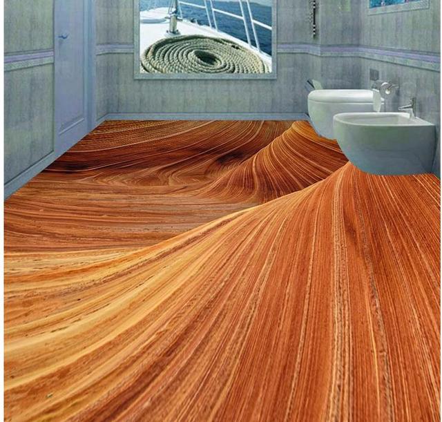 3d stereoscopico deserto piano 3d wallpaper piano per soggiorno ...