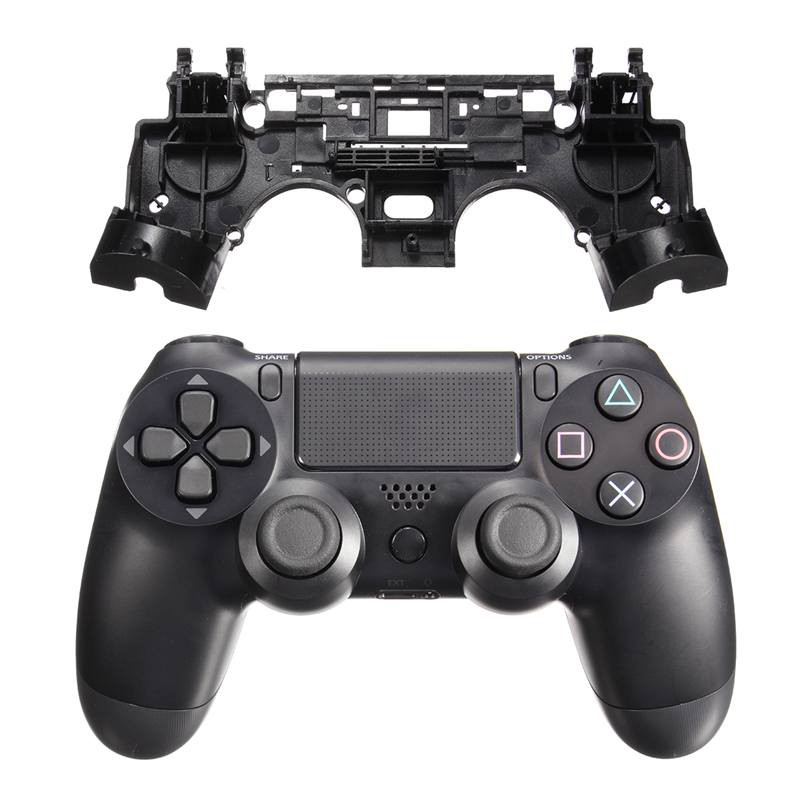 For PS4 Replacement Kits Black R1 L1 Key Holder Internal Shock Motor Support Stand Inner Frame For Playstation 4 For Dualshock 4