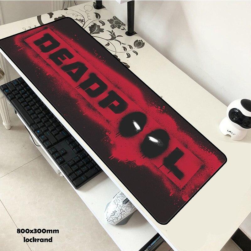 Tapete de mesa ergonômico do escritório do gadget da cópia hd do rato do padmouse da almofada 800x300x2mm
