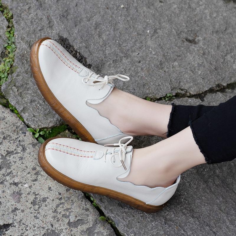 Chaussures Beige black Plate Main Vache Nouveau Artdiya 5 Doux Pour T66322 Printemps 2019 Couleur Semelle Blanches Pur Décontractées Cuir Femmes Faites HIgxf4xq
