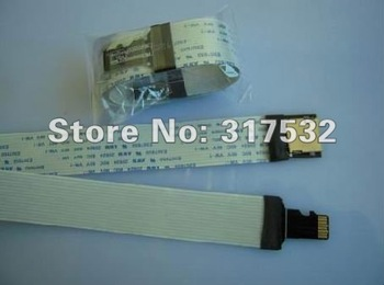 TF card extension cable 48cm TF to TF  for car GPS and DVD MOQ 1pc Free shipping
