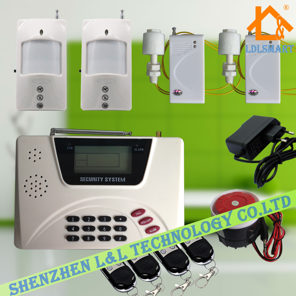 Wireless Pet Friendly Pir Pstn Gsm Dual Network Home Alarm System Smart House Security Alarm