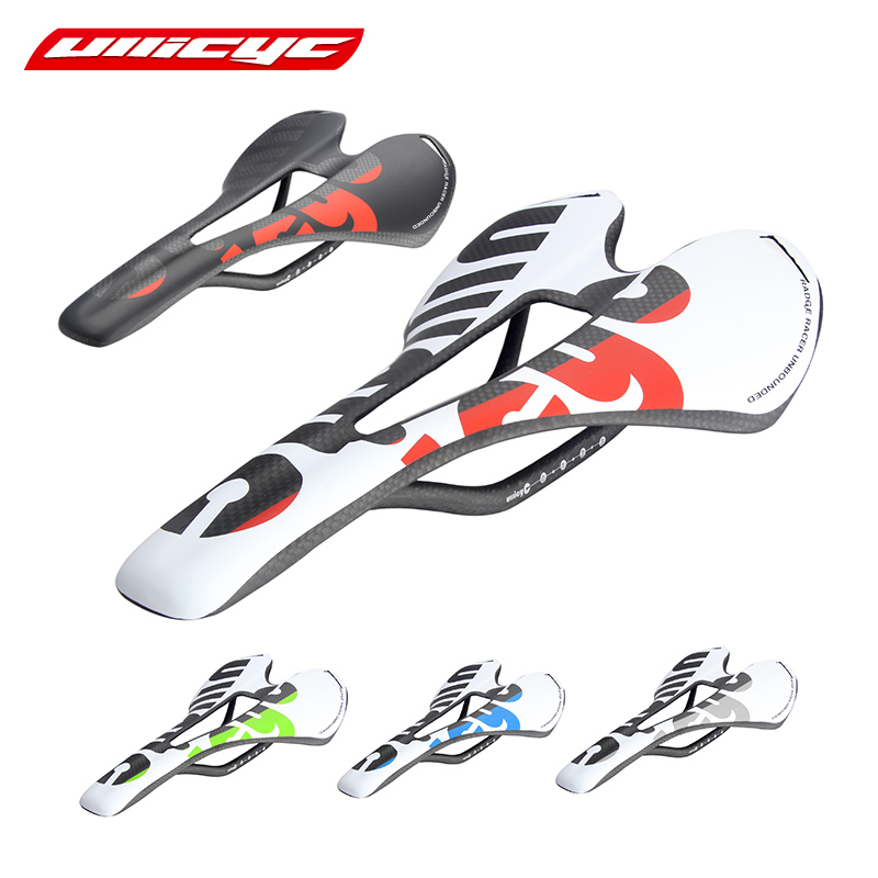 Ullicyc colorful top-level mountain bike full carbon saddle road bicycle saddle MTB front sella sillin seat matround carbon full carbon bike saddle sella carbonio sillines bicicleta mountain bike road bike saddle seat