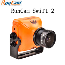 RunCam סוויפט 2 1/3 CCD 600TVL PAL מיקרו מצלמה IR חסום FOV 130/150/165 תואר 2.5mm/2.3mm/2.1mm w/ OSD מיקרופון RC Multicopter