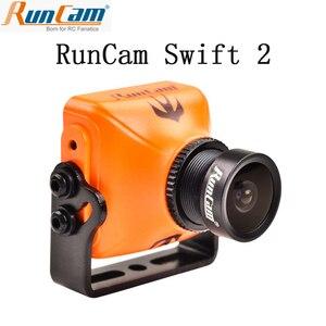 Image 1 - RunCam Swift 2 1/3 CCD 600TVL PAL микро камера IR Blocked FOV 130/150/165 градусов 2,5 мм/2,3 мм/2,1 мм w/ OSD MIC RC Мультикоптер