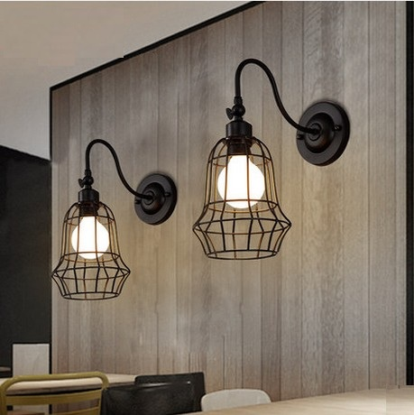 Antique Loft Style LED Wall Sconce Iron Vintage Wall Lamp Industrial Wall Light Fixtures For Home Lighting Lampe Murale iwhd loft style creative retro wheels droplight edison industrial vintage pendant light fixtures iron led hanging lamp lighting
