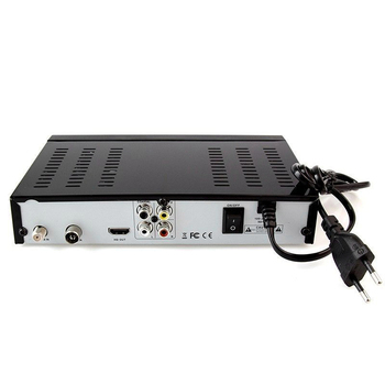 Fta Satellitenempfänger | Smart Digital Satellite Tv Empfänger Dvb-T2 + Dvb-S2 Fta 1080P Decoder Tuner Mpeg4 Mit Usb Wifi Antenne (Eu Stecker)