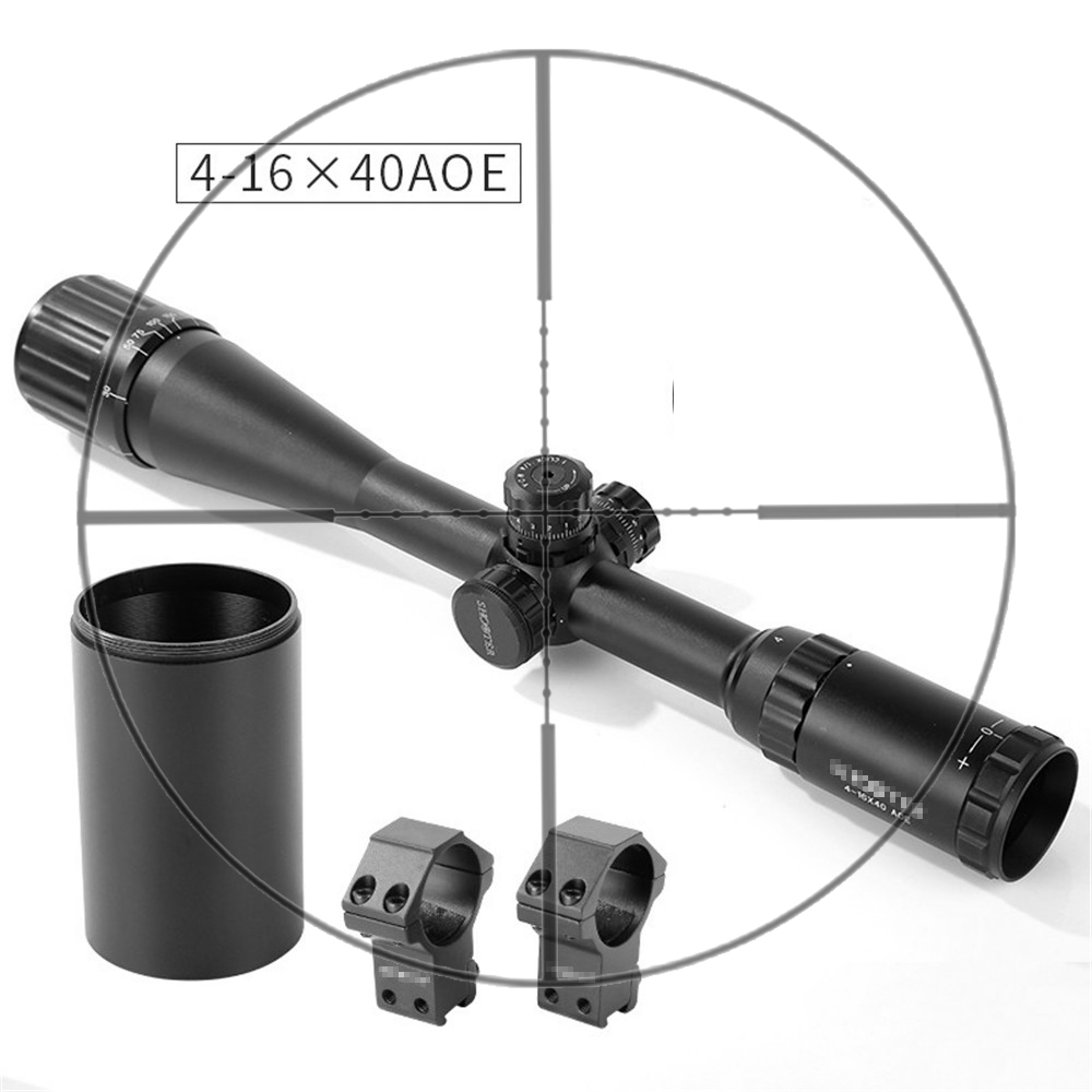 Shooter Tactical ST 4-16x40AOE Rifle Scope With Light For Outdoor Hunting Shooting  OS1-0348Shooter Tactical ST 4-16x40AOE Rifle Scope With Light For Outdoor Hunting Shooting  OS1-0348