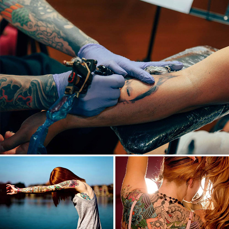 Electric Rotary Tattoo Machine Pen Permanent Motor Tattoo Pen for Eyebrow Body KG66