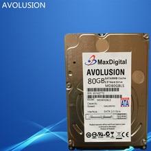 Brand New 2 5inch HDD 80GB 5400Rpm 8M Buff SATA Internal Hard Disk Drive For Laptop