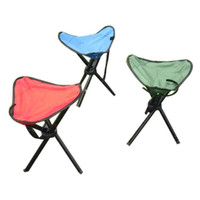 Snowshine3 3001 Camping Folding Stool Portable 3 Legs Chair Tripod Seat Outdoor Oxford Cloth Free Shipping