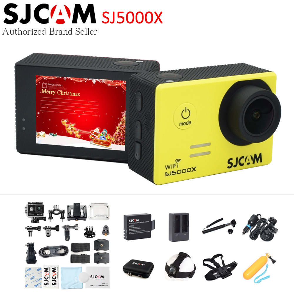 Original SJCAM SJ5000X Elite Wifi 4K Action Camera Gyro Ultra HD Waterproof Diving Outdoor Mini Sport DV