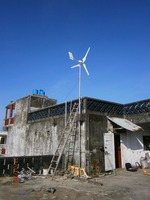 Off Grid 1kw Wind Turbine Generator 1000W Charge Controller