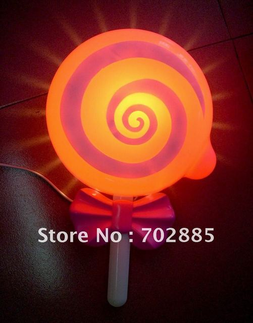 FREE SHIPPING +Christmas Gift, Lollipop Decorating Light, Lamps For  Childrenu0027s Room, Free