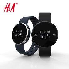 Banda inteligente UW1 Ritmo Cardíaco Reloj Pulsera Inteligente Pulsómetro Inteligente Muñequera Banda de Fitness Inalámbrico Para Android