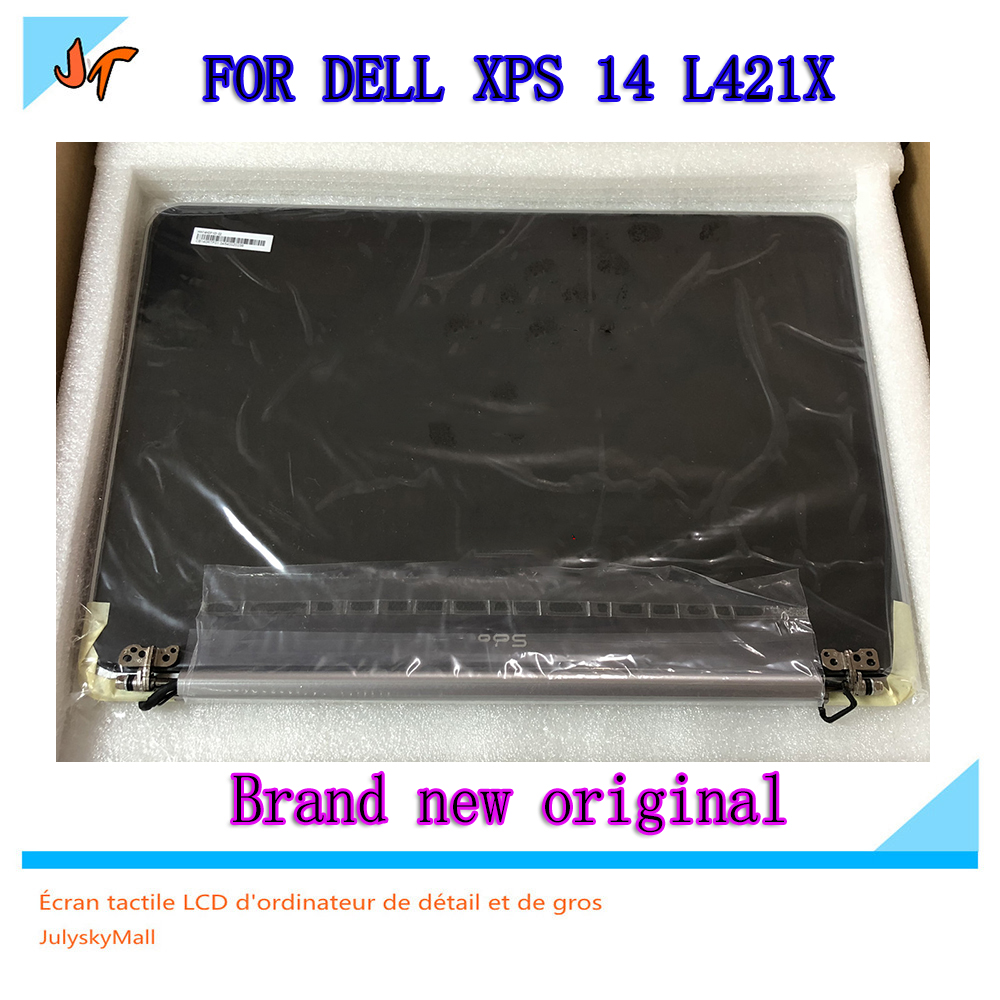 New 14.0 LCD LED screen complete assembly HD for DELL XPS 14 L421x B140RTF01/HW14HDP101 replacement