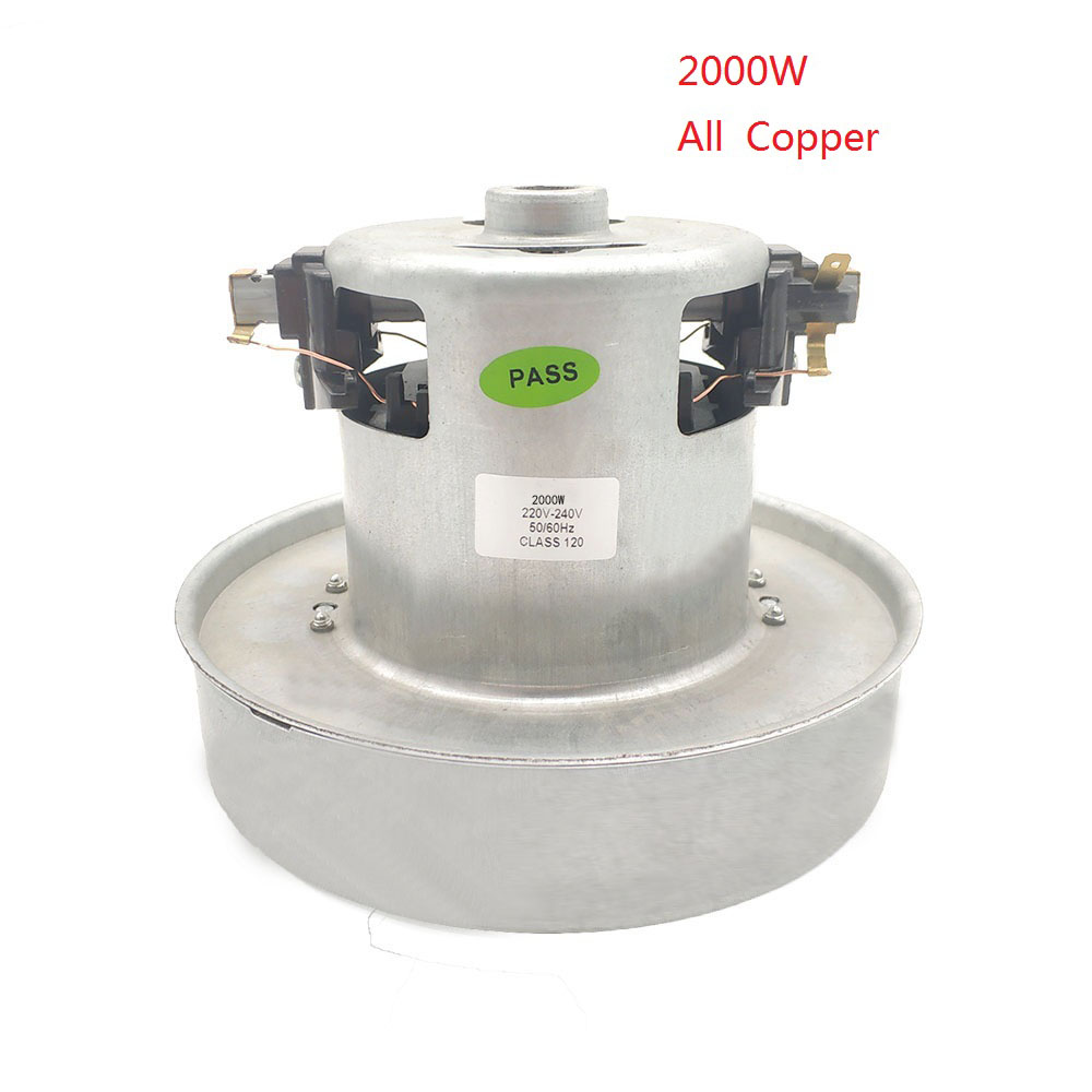 PY-35 220V -240V 2000W Universal Vacuum Cleaner Motor Large Power 130mm Diameter Vacuum Cleaner Accessory Parts Replacement Kit