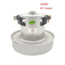 PY-35 220V -240V 2000W universal vacuum cleaner motor large power 130mm diameter vacuum cleaner accessory parts replacement kit(China)