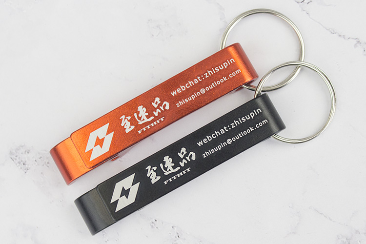 Image 4 - Lot 100pcs Free Customized Engrave Aluminium Portable Can  Opener,Key Chain Ring Can Opener,Restaurant Promotion Giveaway  GiftOpeners