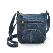 New brand Crossbody Bags 2016 Hot Womens small bolsos mujer Denim Cowboy Satchel Shoulder Messenger Bag