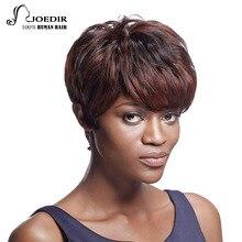 Joedir Hair Brazilian Virgin Hair Wavy Short Human Hair Wigs For Black Women Color DYP1B/33B/33A 10 Inch 85g Free Shipping