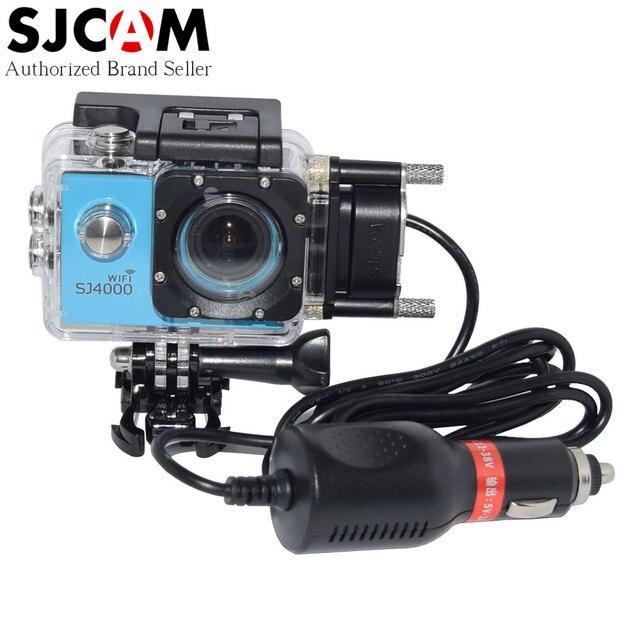 Оригинал SJ4000 SJCAM Бренд Серии Спорт DV Водонепроницаемый Чехол Зарядное Устройство для SJ4000 + Плюс SJ4000 Wifi SJ 4000 и т. д. Камеры на мотоцикл