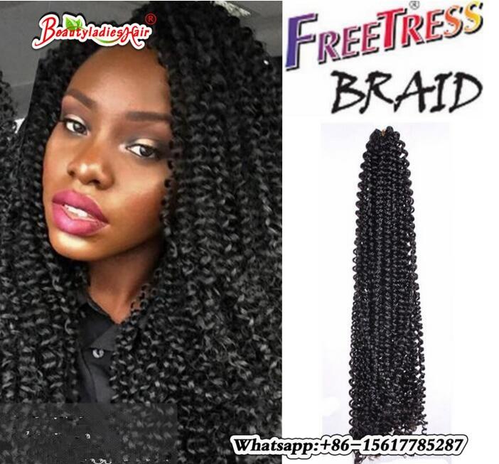 1piece 18inch Havana Mambo Twist Crochet Braid Hair Freetress Braid