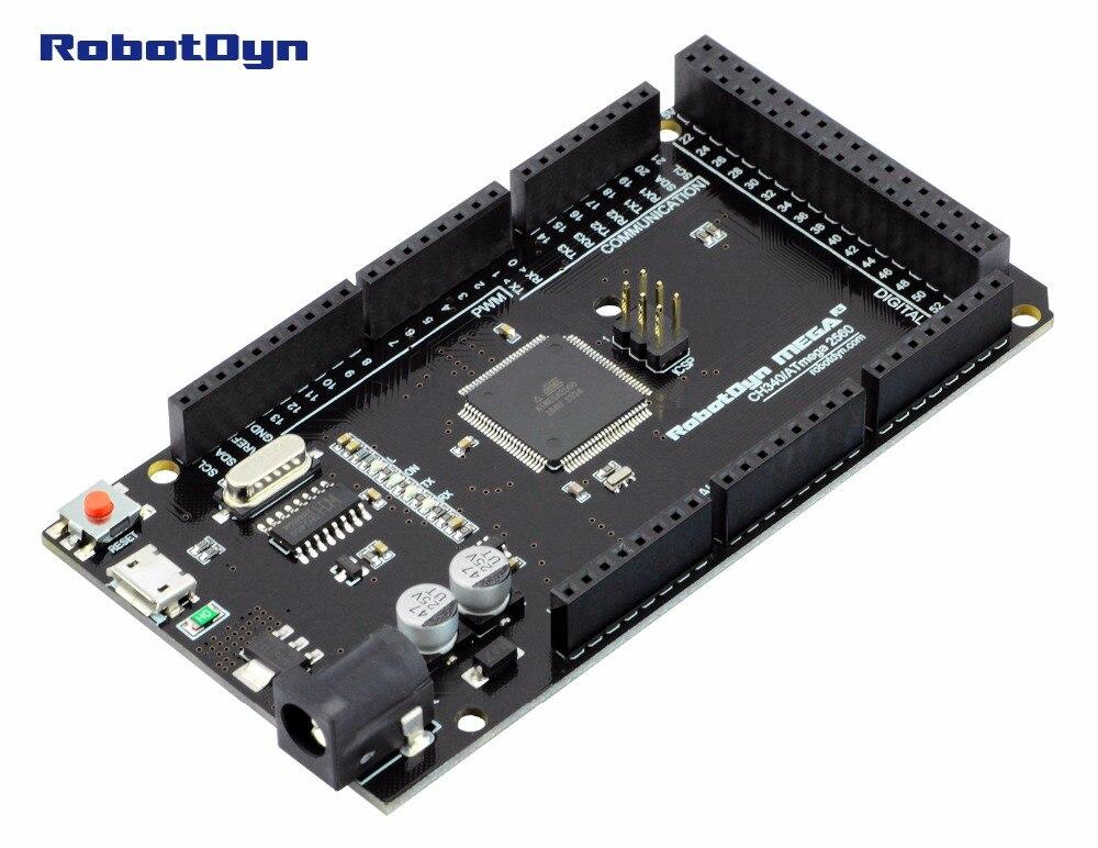 Arduino Mega 2560 USB Vista
