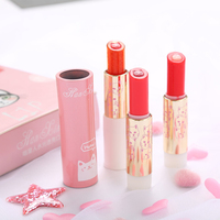 Hot Sale Cute Cat Shaped Creative Lipstick Waterproof Moisture Long existing Moisturizing Smooth Lipstick With Two Replacement