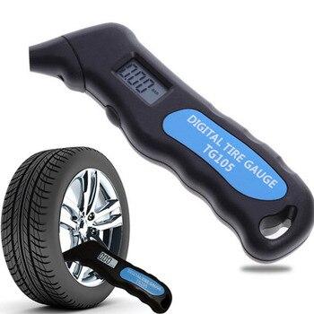 Digital Car Tire TG105 Digital Tire Pressure Gauge Meter Manometer Barometers Tester Digital LCD Tyre Air for Auto Car Tools tl 100 digital manometer air pressure meter portable pressure gauges handheld u type differential pressure meter