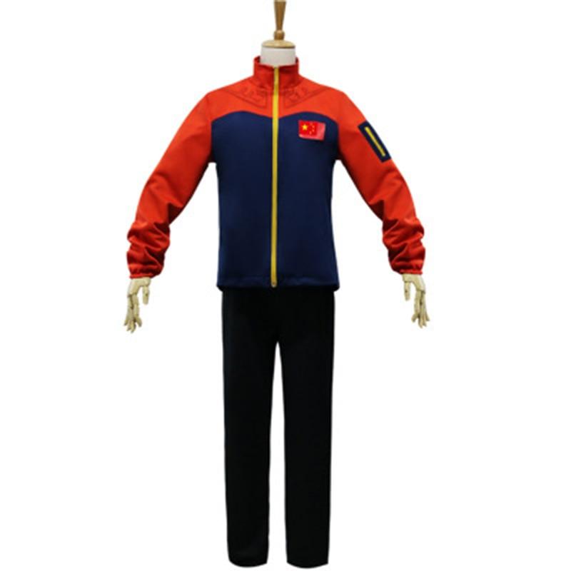 YURI!!!on ICE cosplay costume Ji GuangHong uniform suits sport clothing COSDADDY