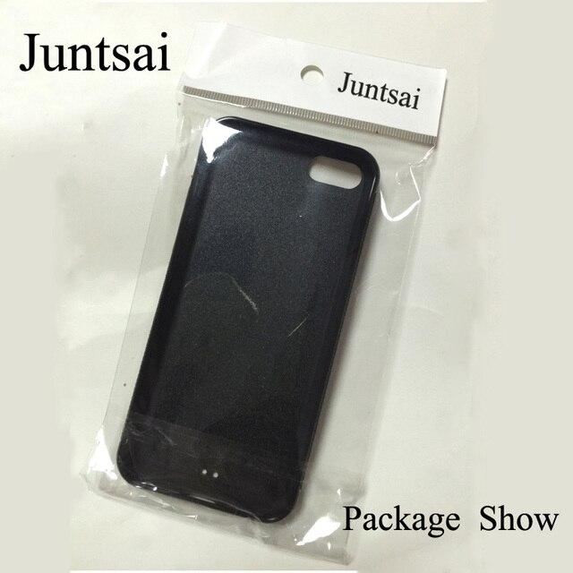 Juntsai Japanese Geisha Kokeshi Doll Printed For iPhone XS MAX XR X Case TPU Back Shell For iPhone 6 6s 7 8 Plus 5s Phone Cover 5