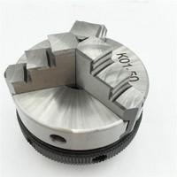 Sanou K01 50 Chuck 50mm 2 LATHE Chuck three Jaw Manual mini Self CenteringThread Mount for CNC Precision Instrument