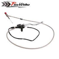 Free Shipping 1200mm Black Hydraulic Clutch Lever Master Cylinder For 125 250cc Vertical Engine Offroad Motorcycle Pit Dirt Bike