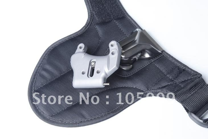 Quick Shoot Good Partner Camera Belt Holster Buckle Button Mount For Canon Nikon Sony