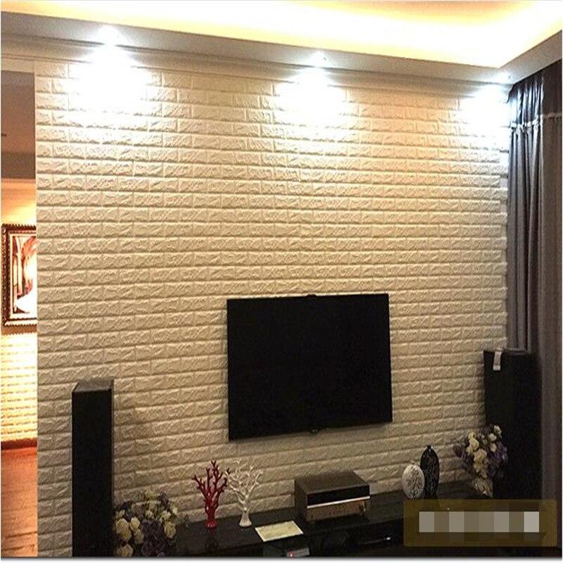 3D Wall Stickers Elastic Brick Kindergarten Bedroom Modern Living ...