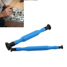 2Pcs Manual Double Ended Valve Grinder Grinding Stick Hand Lapping Tool With Sucker Cups Kit Set Auto Repair tool