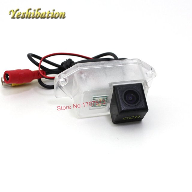 CCD Color Car Reverse Rear View Parking Back Up Camera For MITSUBISHI Lancer - фото 10