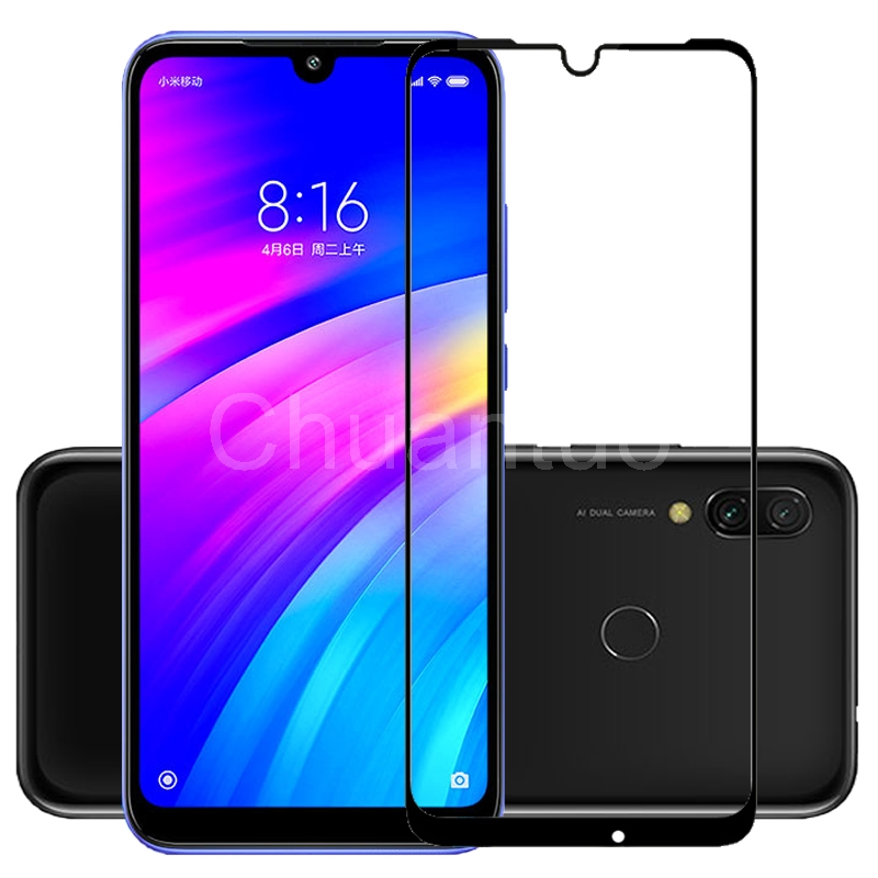 25 Pcs/Lot Full Coverage Screen Protectors For Xiaomi Redmi 7 Scratch Proof Protective Film Tempered Glass For Xiaomi Redmi Y3