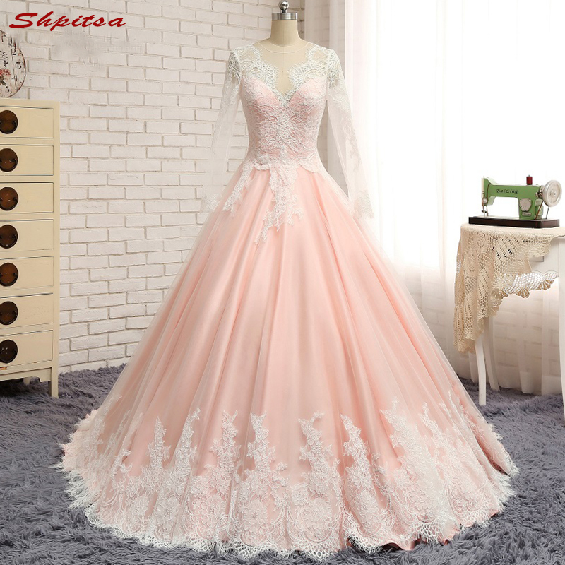 Long Sleeve Lace Evening Dresses Party Beautiful Women Prom Formal Evening Gowns Dresses Wear