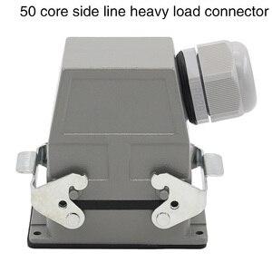 Image 3 - 50 コア長方形ヘビーデューティコネクタ HDC HDD 050 コールドプラグ工業用防水プラグソケット 10A