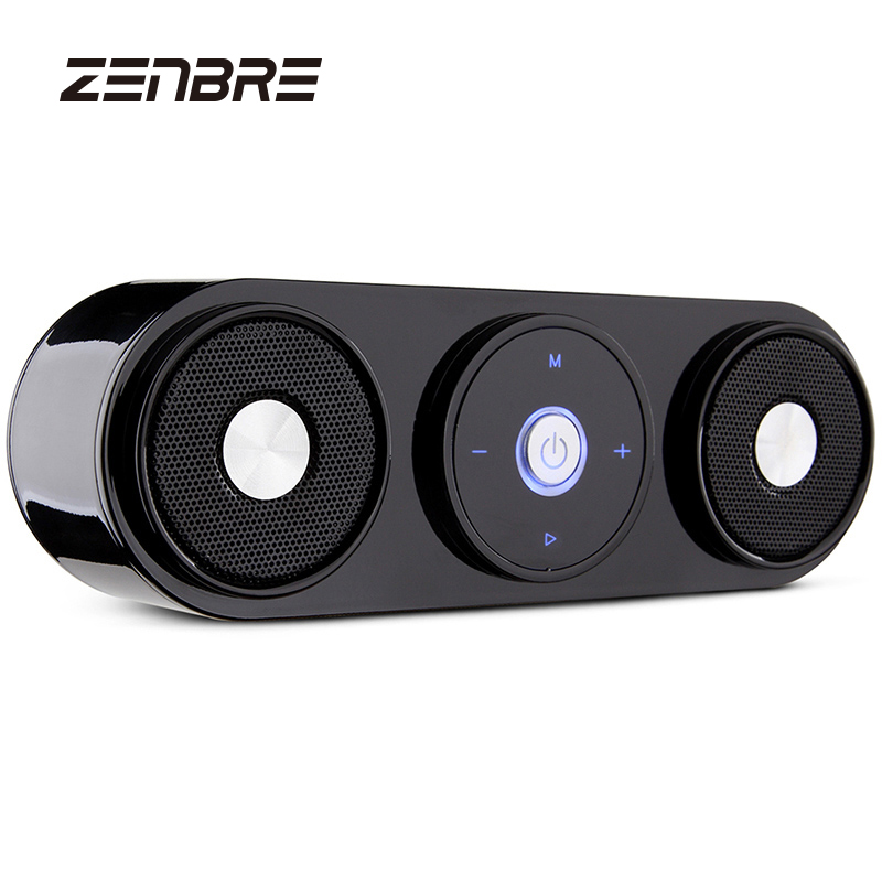 цена на ZENBRE Z3 10W Portable Bluetooth wireless Speakers with 20h Playtime, Computer Speaker with Dual-Driver Enhanced Bass Resonator