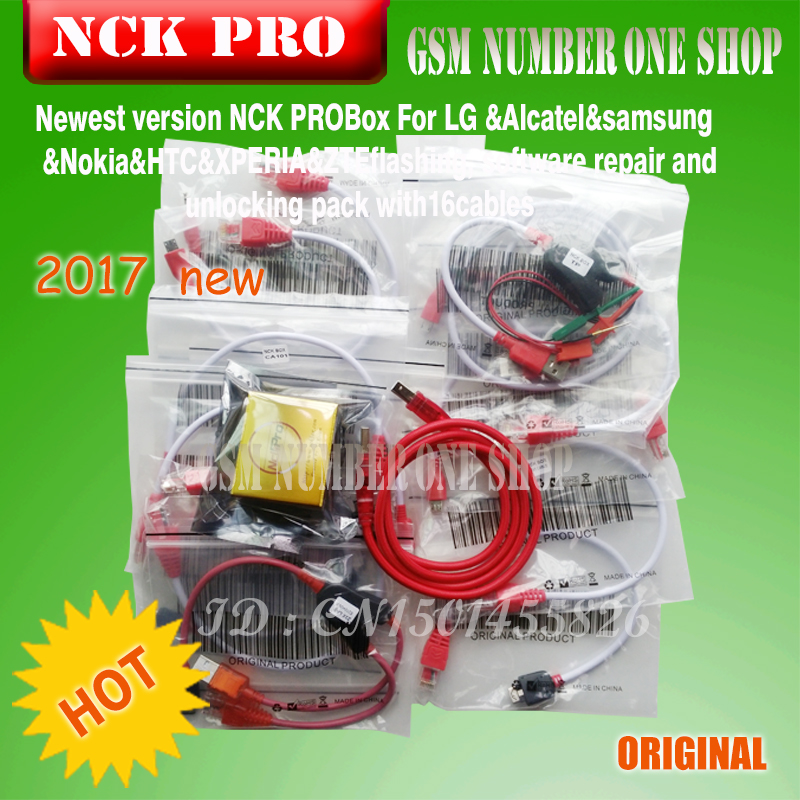 2018 Original Newest NCK Pro Box / NCK Box (support NCK+ UMT 2 In 1)new  Update For Huawei + 15