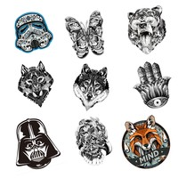 1 PCS Mechanical Series Badge Acrylic Kawaii Acrylic Badges Kawaii Icons on Backpack Badges for Clothes