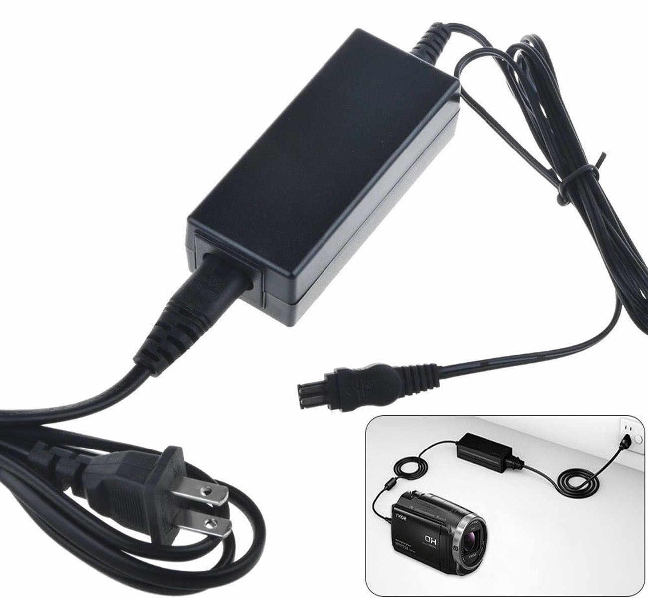 Micro USB Cargador para SONY DCR-TRV12 TRV12E TRV14 TRV14E TRV15